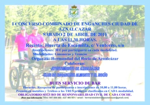 Cartel Concurso Enganches