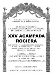 XXV ACAMPADA ROCIERA