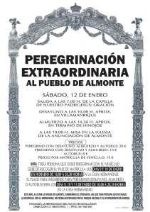 CARTEL PEREGRINACION 2013