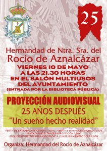 cartel proyeccion audiovisual