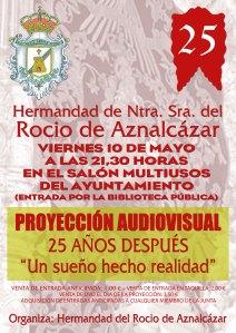cartel proyeccion audiovisual