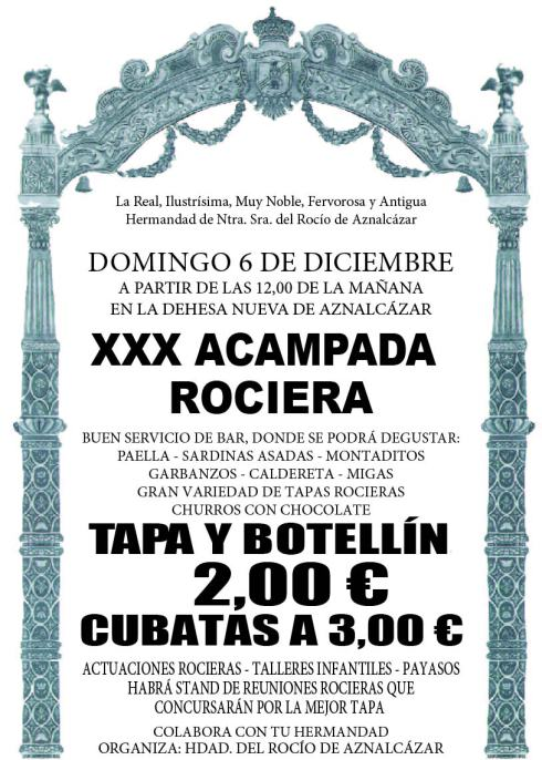 ACAMPADA ROCIO 2015